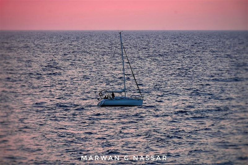 """Thought is the Wind, Knowledge the Sail and Mankind the Vessel..""""August... (Batroûn)"""