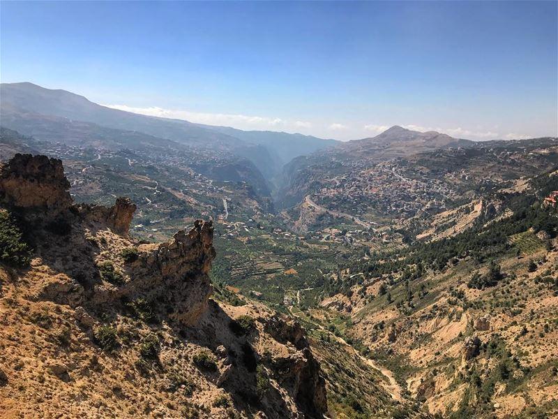 Happy ‼️................. lebanon nature landscape ... (Bcharreh, Liban-Nord, Lebanon)