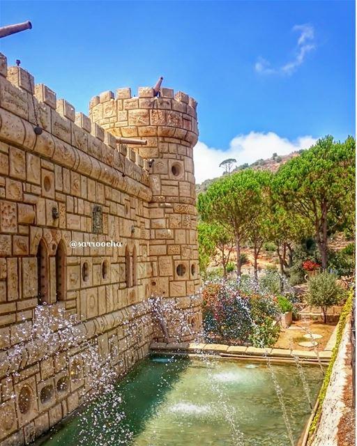 Never stop dreaming 🏯 takenbyme ptk_Lebanon visitlebanon ... (Moussa castleقلعة موسى)