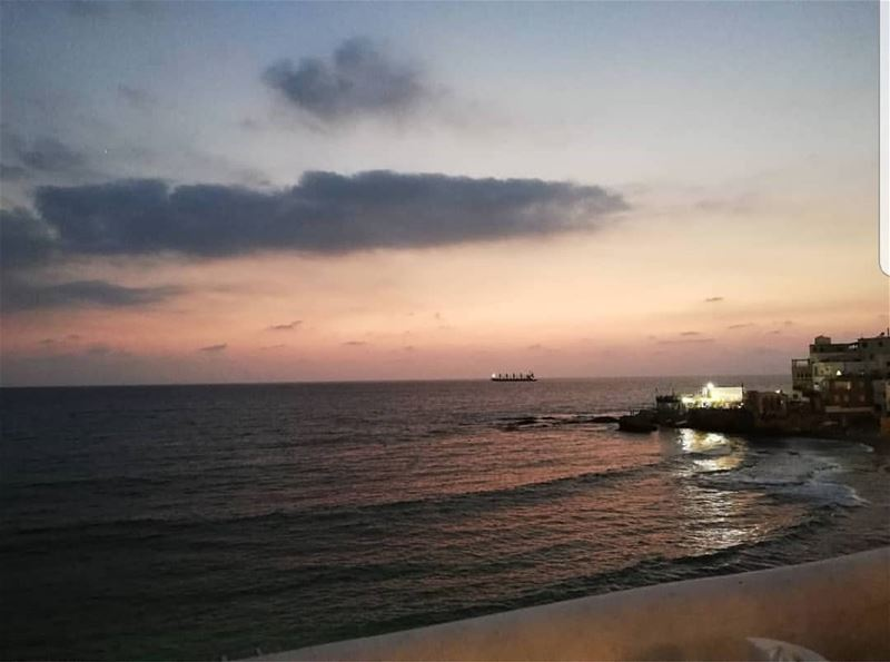 batroun البترون_سفرة @titansbatroun bahsa sunset sea ... (Bahsa-Batroun)