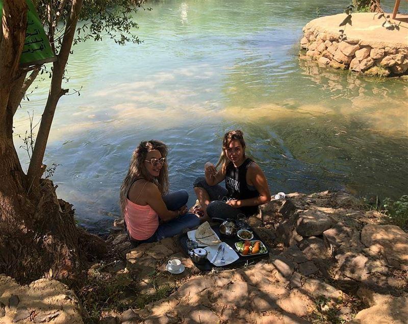 Good morning!Photo by @ayahaddad1 assi_river hermel hermel_city ... (El Hermel, Béqaa, Lebanon)
