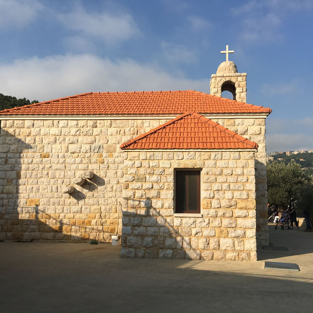 Mar Chaaya Monastery's farm 🐐🍶 kulturoscope culture localproduct ...