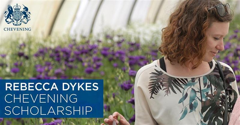 The Rebecca Dykes  Chevening  Scholarship in  Lebanon is dedicated to the...