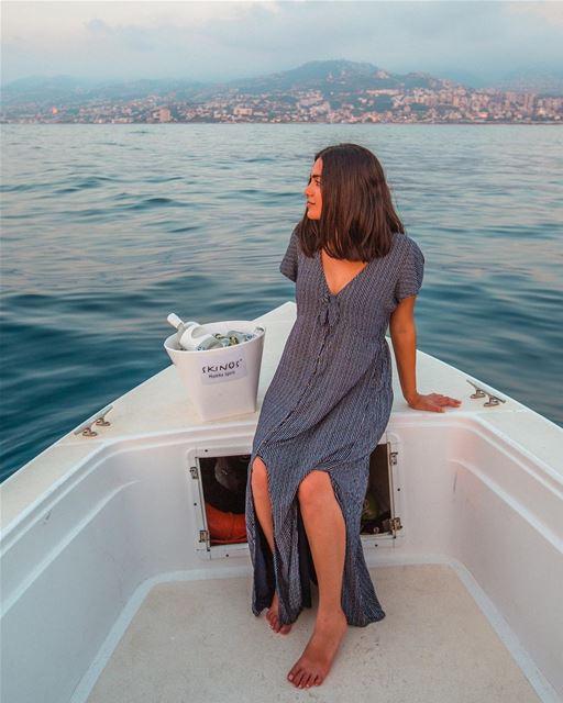 fun Mediterranean experience with @skinos_mastiha_spirit- took a boat... (Lebanon)