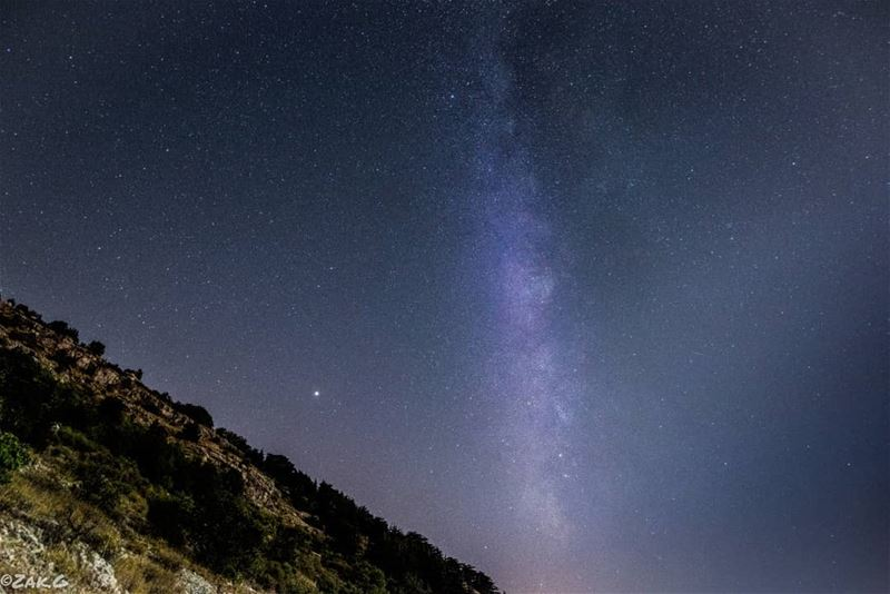 The darkest nights produce the brightest stars milkywaychasers nightview... (Cedars Ground Campsite)