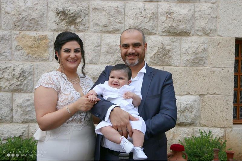 Joseph's Christening 👼🏻🙏🏻Book your BaptismPhotography now on 📱+96170 (Mazar Saint Charbel-Annaya)