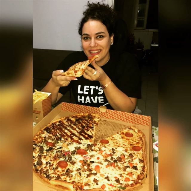 New idea coming over this year!! pizzatime instead of cake for my ... (Lebanon)