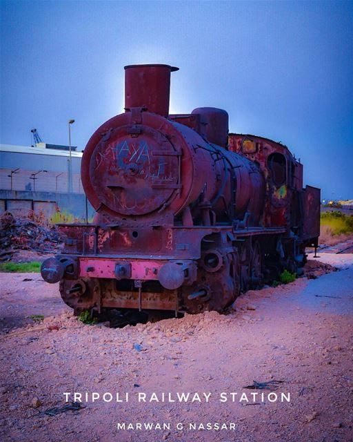 The Tripoli railway station is located near El-Mina, Tripoli, Lebanon. It... (Tripoli Train Station Terminal)