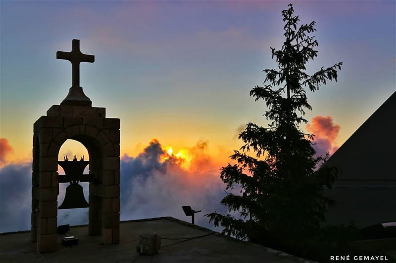 Our prayers should be for blessings in general, for GOD knows best what is... (Ehden, Lebanon)