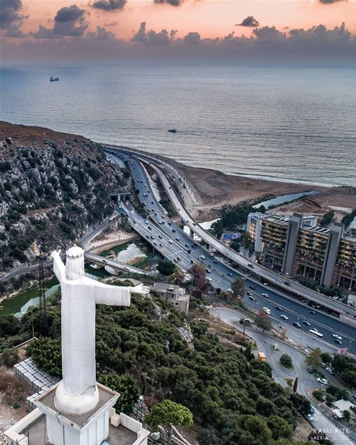 Start your week with God 🙏... lebanon jounieh dbayeh dji drones ... (Zouk Mosbeh)