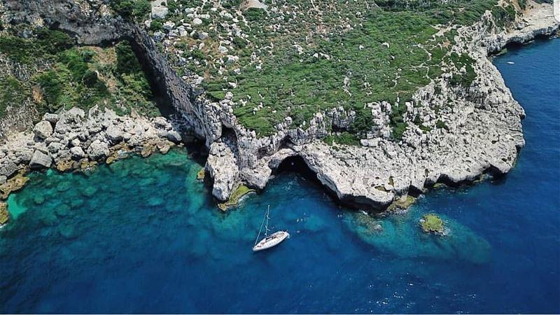 batroun hamat boat sailing sailingboat sea mediterraneansea ... (Hamat)