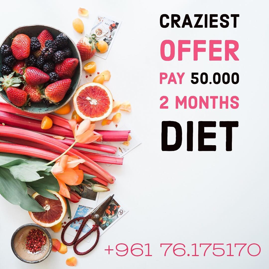 Crazy limited offer ⚠️Hurry up and book your appointments 🗓 diet ...