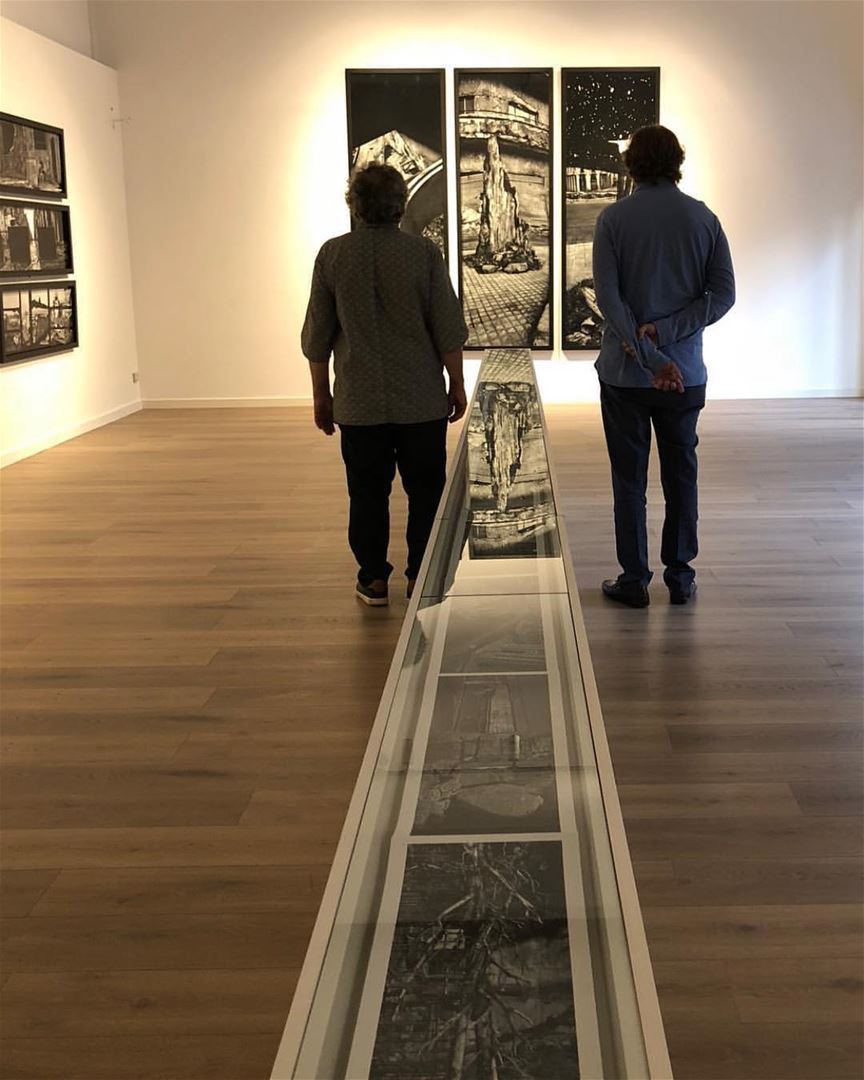 EXHIBITIONTHE WALL / BEIRUTJOSEF KOUDELKAAn exhibition displaying two... (Dar El-Nimer for Arts & Culture)