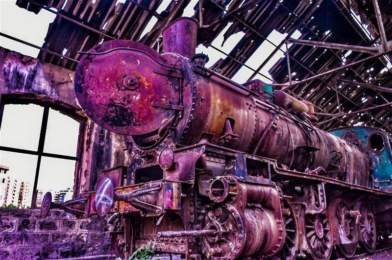 Stuck in Time......📍Tripoli Railway Station, El Mina, Tripoli,... (Tripoli Train Station Terminal)
