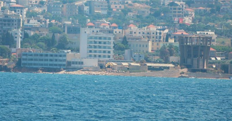 The National Center for Marine Sciences as seen from the 🌊.......ا (NCMS-National Center for Marine Sciences / CNRS-Lebanon)