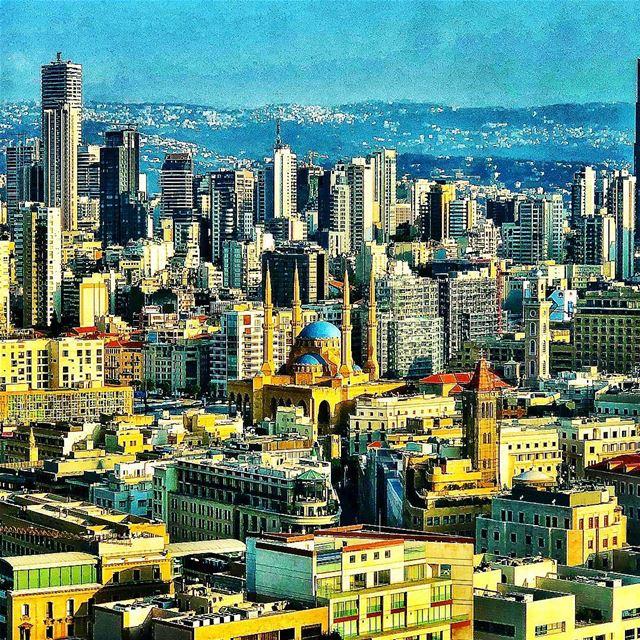 MyBeirut 💙 ..... Lebanon Beirut Liban LiveLoveLebanon ... (Four Seasons Hotel Beirut)