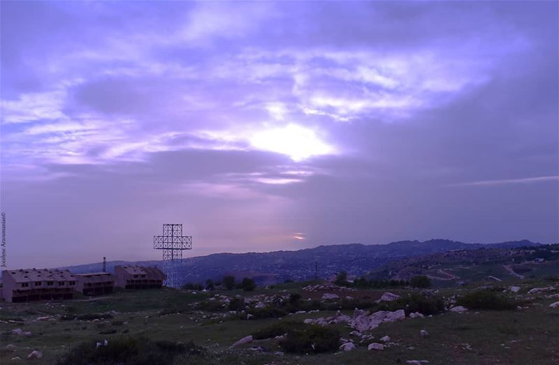 Just believe in HIM🙏💓 just believe inhim godslight godsway ... (Qanat Bakish, Mont-Liban, Lebanon)