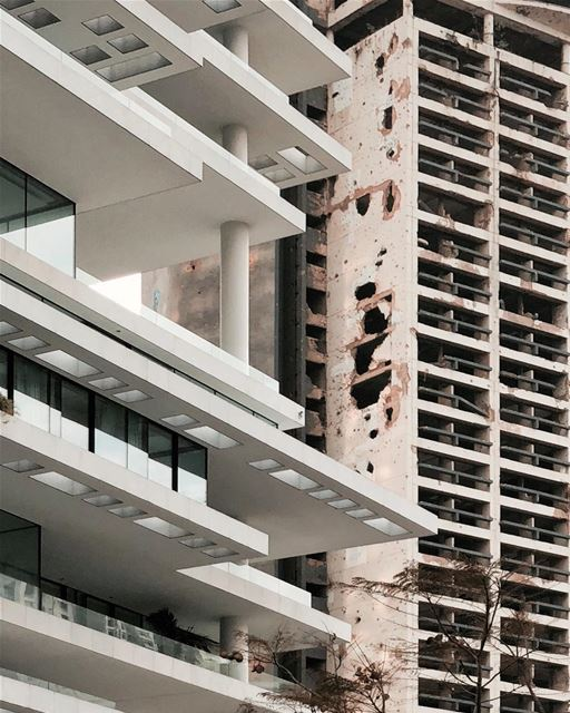 Beirut then and now ✨ Beirut architecture urbex shotoniphone....... (Beirut, Lebanon)