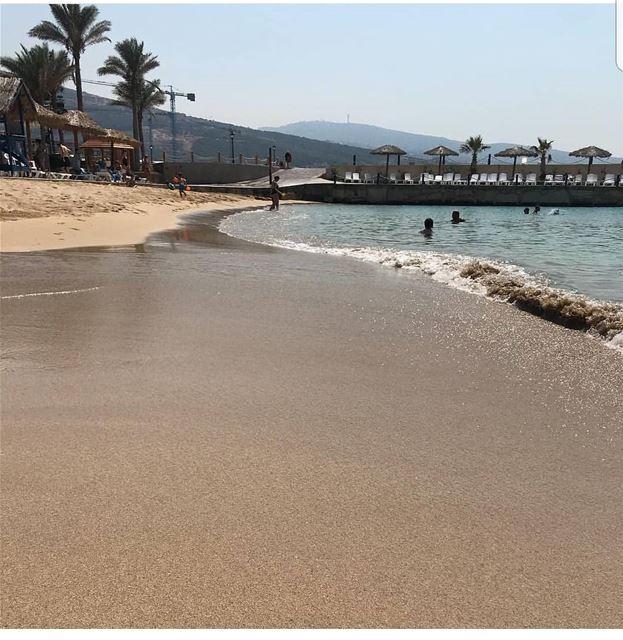 batroun البترون_سفرة resorts beach sandybeach sea mediterraneansea ... (Sawary Resort & Hotel-Batroun)