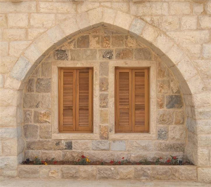 Imagine this next spring. ForTheLoveOfShutters LebaneseHouses ... (Chouf)
