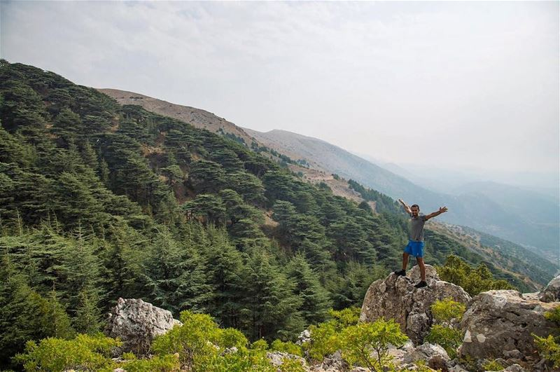 Did you know that you do not have to be an influencer to go hiking ? FYI ... (Arz el Bâroûk)