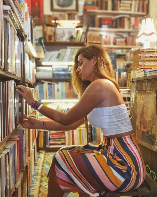 Lḯbяaяy is the Original Search Engine 👩🏽💻**📸: @edyazbeck (Halabi Bookshop)