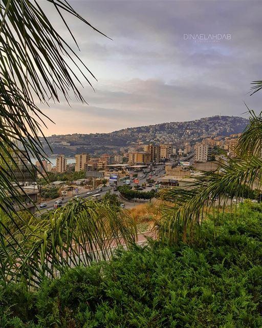 🌥️_________________ lebanon lebanon_hdr sunlight sunset jounieh ... (Joünié)