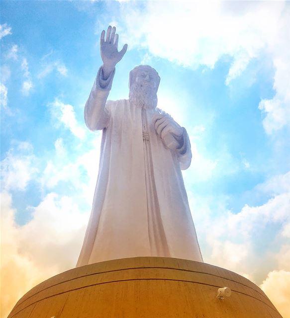 Saint Charbel Pray for us 🙏 marcharbel saintcharbel livelovehammana ...