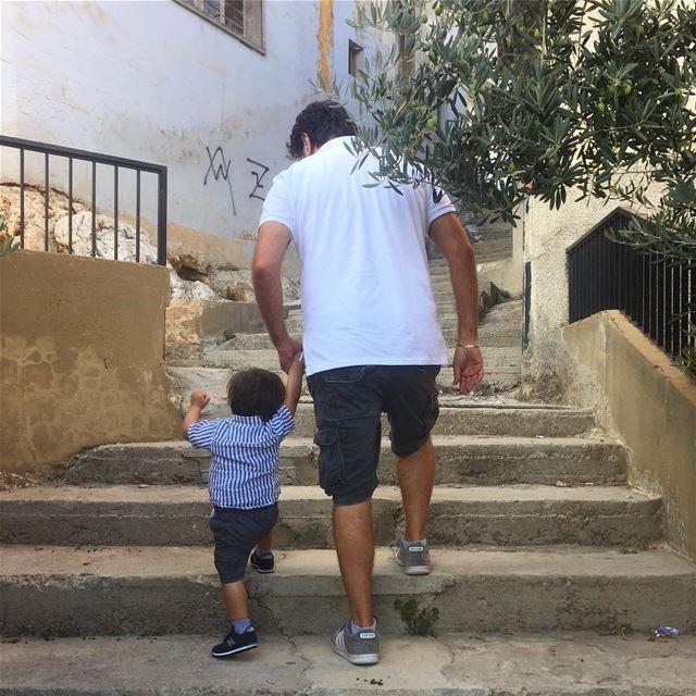 father son fatherandson lallous elias baby boy babyboy village ... (Qabb Ilyas, Béqaa, Lebanon)
