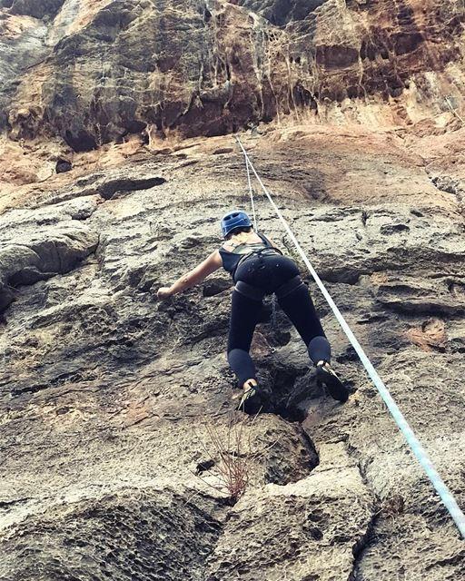 🧗♀️Yes Climbing @maisonduski 🐒.. keepdiscovering .. lucyinlebanon� (Tannurin At Tahta, Liban-Nord, Lebanon)