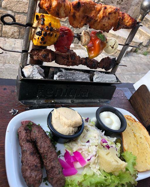lebanesecuisine lebanesefood yummy yum delicious food foodporn ... (Byblos, Lebanon)