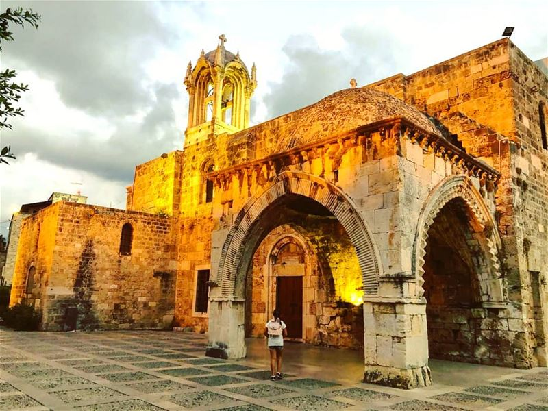 """I will walk by faith even when I cannot see."" - 2 Corinthians 5:7... (Byblos - Jbeil)"