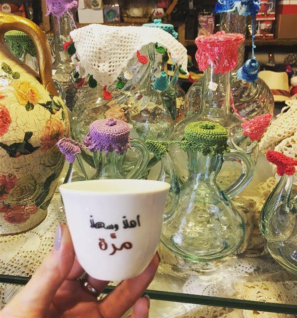 القهوة رغم مرارتها تصلح كل شيء.... ramramcoffee turkishcoffee ... (Jbeil-Byblos)