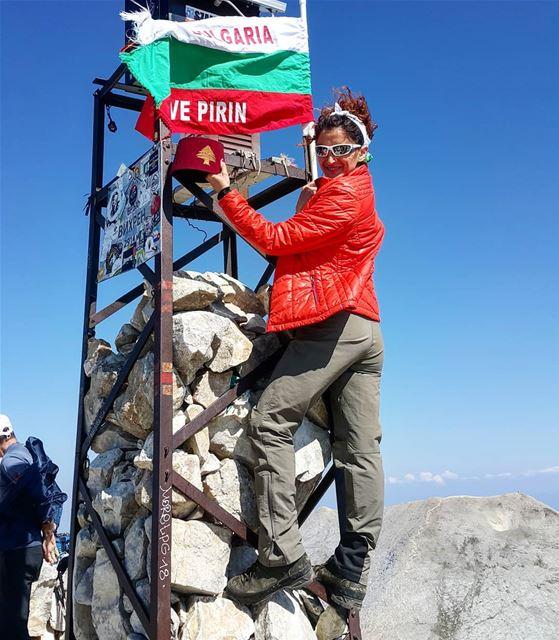 Vihren peak livelovebulgaria hiking_lifestyle hikingadventures ... (Vihren Peak, 2914 m, Pirin Mountains, Bulgaria)