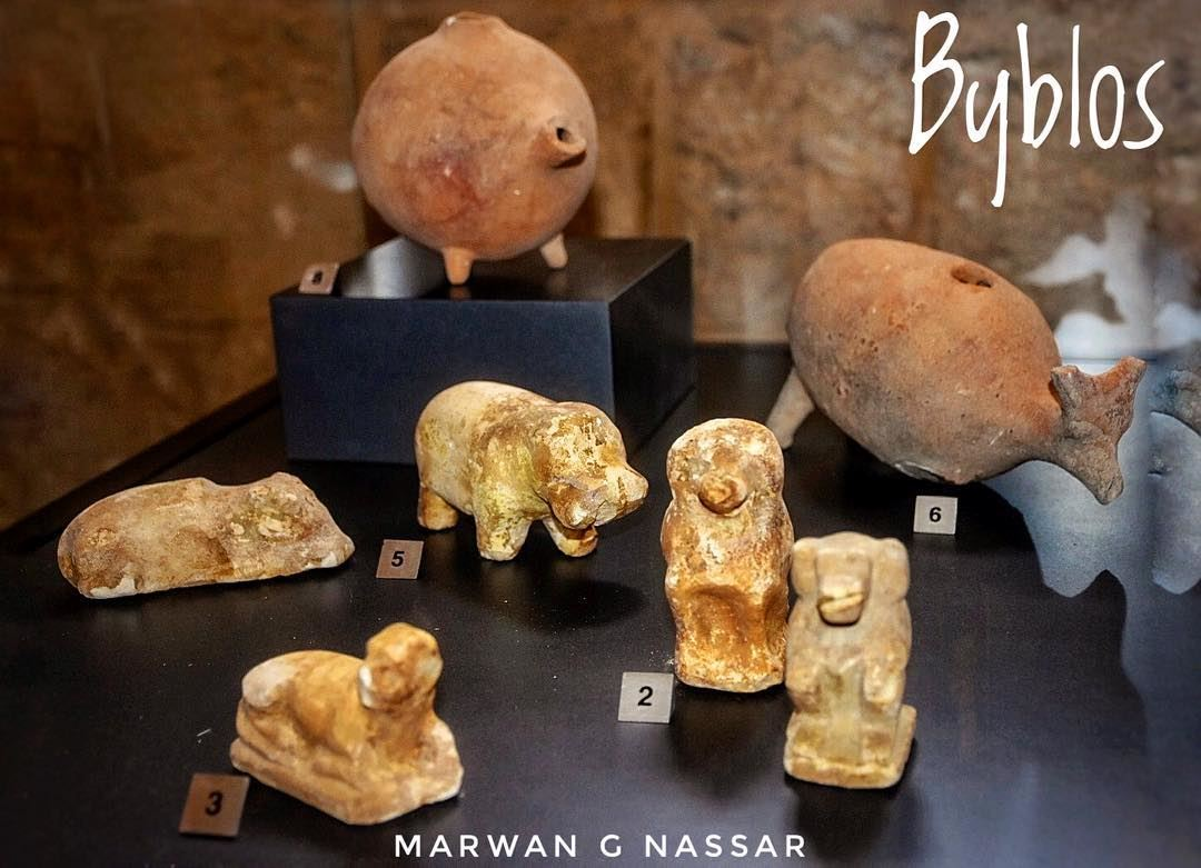 Phoenician Artifacts and Figurines......📍Byblos Historical City,... (Byblos - Jbeil)