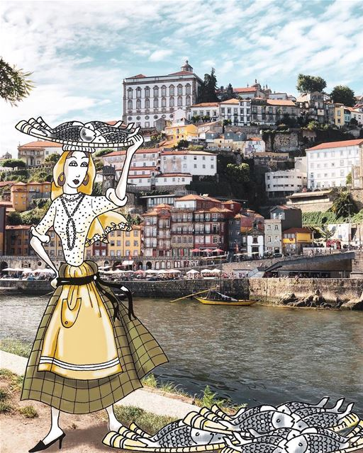 - D i n n e r ' s O n M e-( Repost: @elmaalouf ).... portosworld ... (Porto, Portugal)
