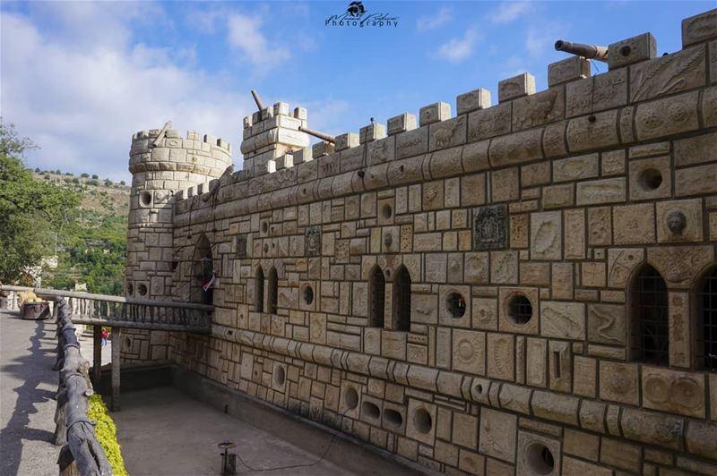 Moussa castle 🏛️ • • • chouf shoufreserve lebanon beirut ...