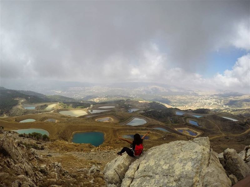 topview livelovelebanon livelovefalougha hiking lakes 📷@marc_cherfan_