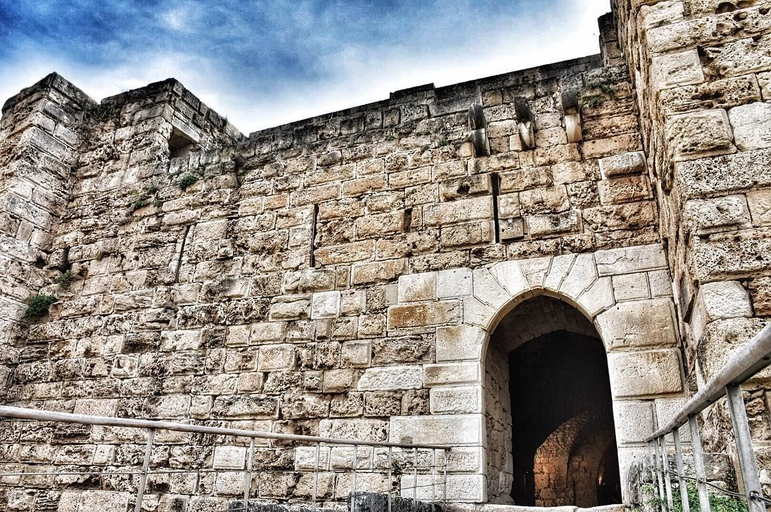 The castle of Gibelet or Giblet..The castle was built by the Crusaders in... (Byblos - Jbeil)