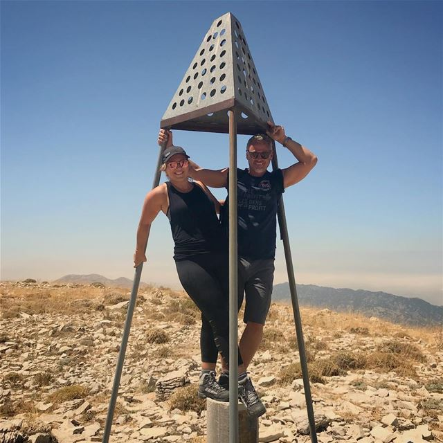 We reached the high summit by walking together hand by hand through tough... (Faraya, Mont-Liban, Lebanon)