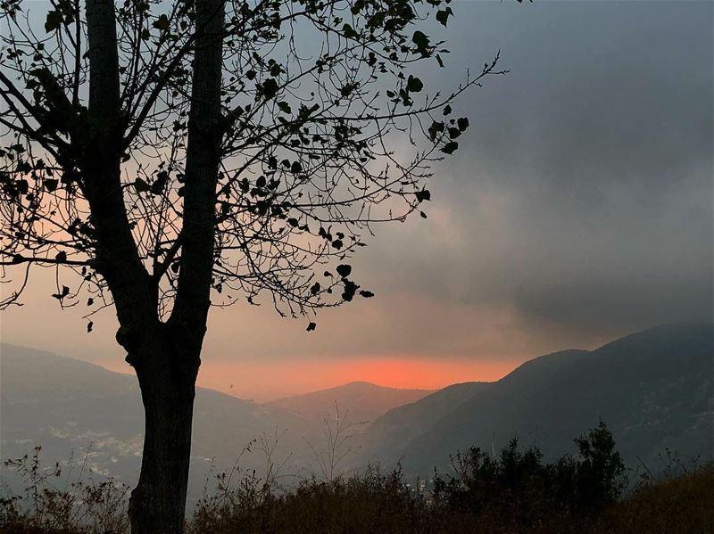 Today's sunset Ehden Sunset Lebanon Lebanese ... (Ehden, Lebanon)