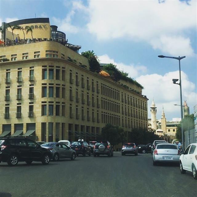 Beirut 💙. lebanon beirut lecray city amazing_pictures lebanospotlights... (Le Gray, Beirut)