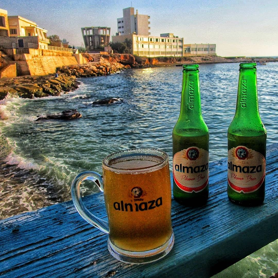 Beer is proof that God loves us and wants us to be happy Cheers to the... (Le marin restaurant)