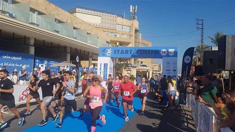 batroun البترون_سفرة fit_run running sport competition bebatrouni ... (Batroûn)