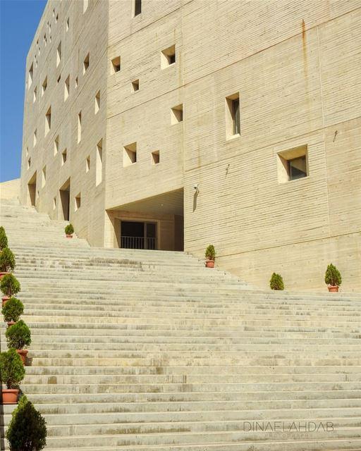 Perspectives 📐✏️____________________ lebanon lebanon_hdr campus usj ... (Campus de l'Innovation et du Sport - USJ)