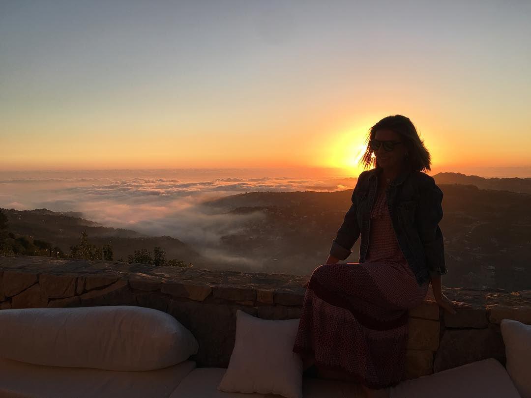 Sunset 🌅 ⠀⠀⠀⠀⠀⠀⠀⠀⠀⠀⠀⠀⠀⠀⠀⠀⠀⠀⠀ kulturoscope culture sunset sun clouds ... (Faqra (fornlämning i Libanon, lat 34,00, long 35,81))
