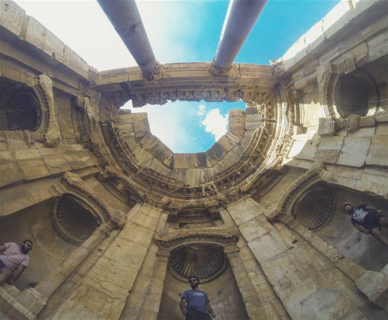 ⚡Do Not Anger The Gods⚡... baalbeck livelovebeirut livelovebaalbeck ... (Baalbeck, Béqaa, Lebanon)