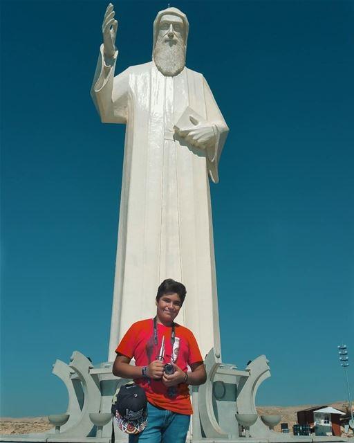 My little child yesterday, My big boy today, My Son and best friend... (Saint Charbel-Faraya)