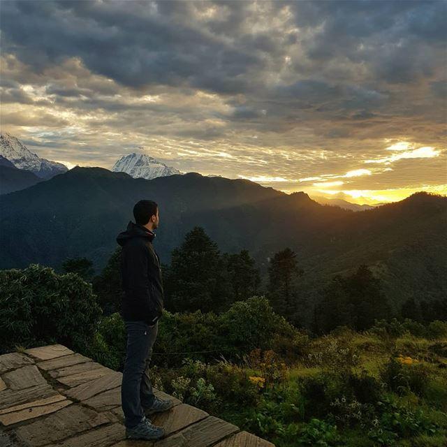 Watch more Sunsets than Netflix 😉....📸 @nico0o0o0o0 life sun ... (Nepal)