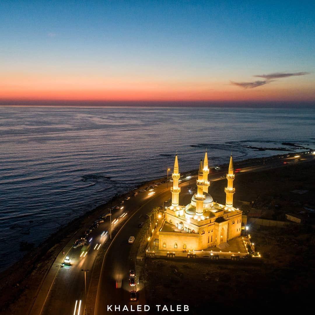 مسجد الشكر - الميناء طرابلس 💚 tripoli north lebanon dji drones ... (Tripoli, Lebanon)